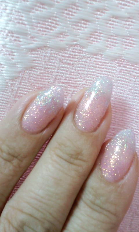 水色&ピンクねいる