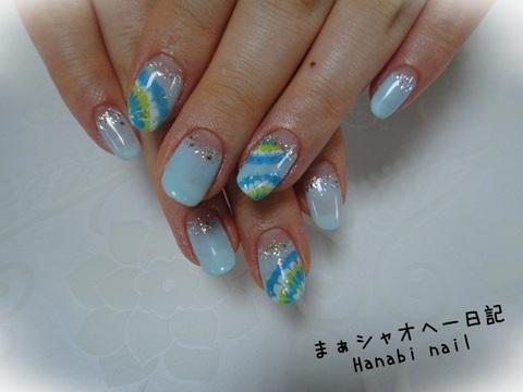 Hanabi nail