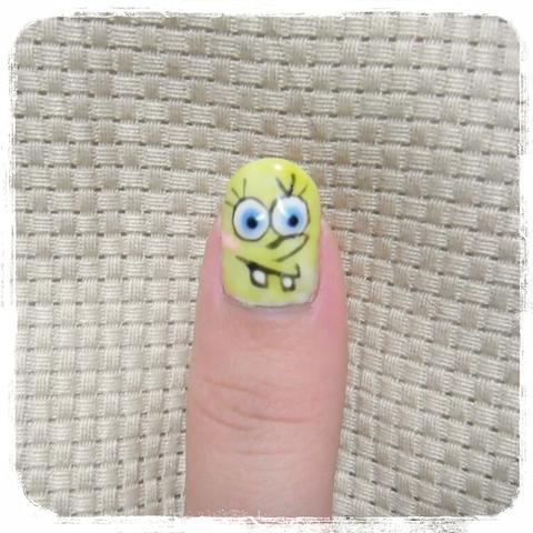 Gray & Sponge Bob