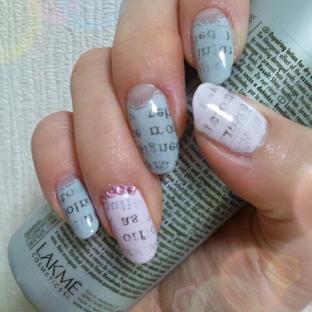 newspaper nail