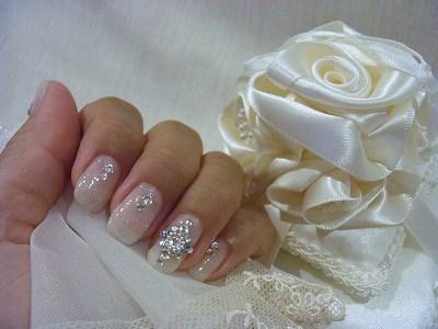 Wedding Nail☆Something Blue